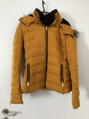 Zara Outerwear Down Jacket light orange