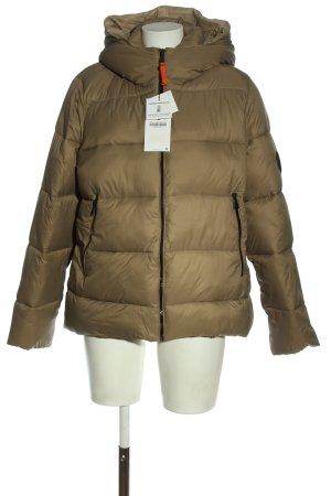 Zara Piumino marrone motivo trapuntato stile casual