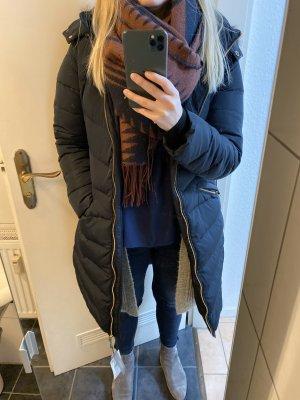 Zara Manteau en duvet multicolore