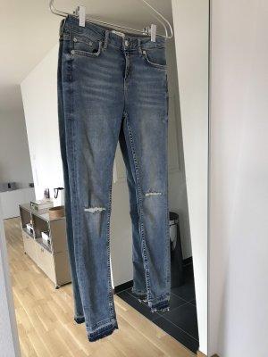 Zara Denim Skinny Jeans Mid Waist Gr. 36 / S - NEU und ungetragen!
