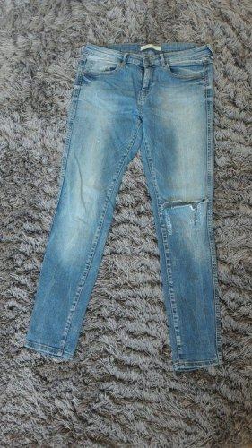 Zara destroyed Jeans Hose skinny