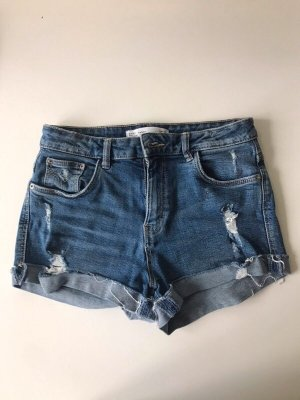 Zara destroyed jeans hot pants
