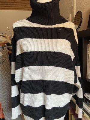 Zara Destroyed Oversize Pullover Streifen Gr. M 38
