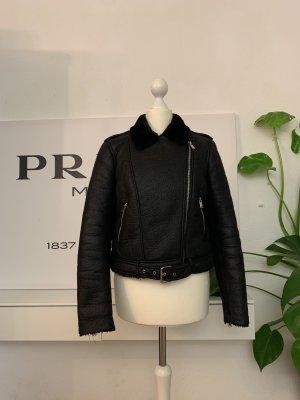 Zara Veste double noir