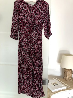 Zara dress Xs Shinny material Open on the front