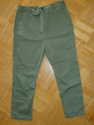 Zara Drop Crotch Hose oliv GrS
