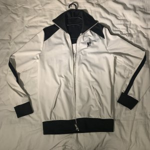 Zara Ripstop Jacket white-black
