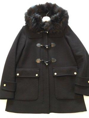 ZARA Duffle Coat / Mantel / Jacke in schwarz