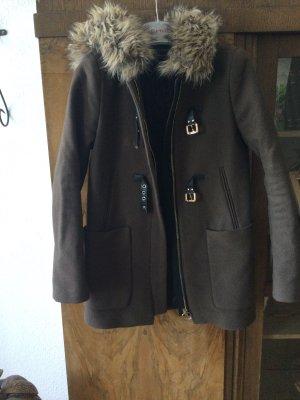 Zara Duffle-coat brun