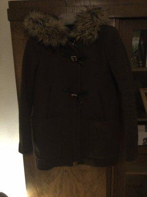 Zara Duffel Coat brown