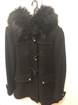 Zara Duffle-coat noir-doré