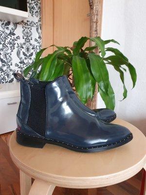 Zara Winter boots donkerblauw
