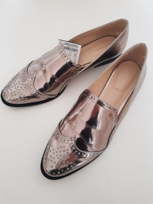 Zara Budapest schoenen zilver