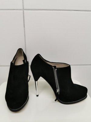 Zara echt Leather Leder Highheel Stiefel