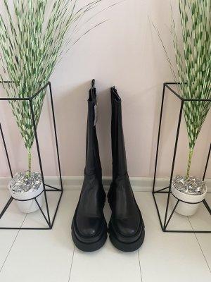 Zara Echtleder Stiefel Boots SOLDOUT