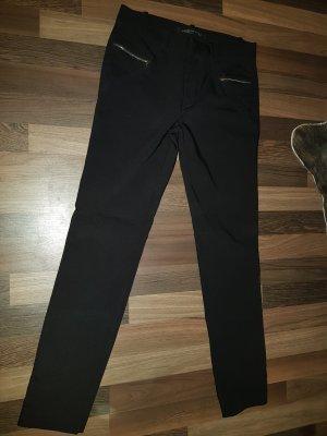 Zara - elegante Hose mit Reißverschlüssen vorne