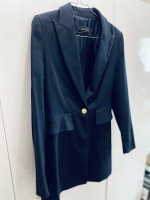 Zara Basic Veste de smoking bleu foncé