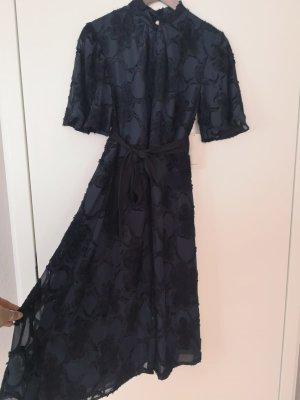Zara elegantes Kleid dunkelblau