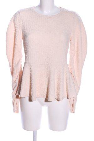 Zara Empire Waist Shirt pink allover print casual look
