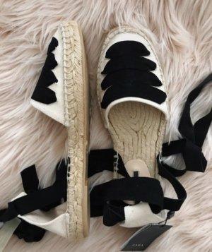 Zara Espadrille Sandals multicolored