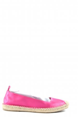 Zara Espadrilles-Sandalen pink Casual-Look