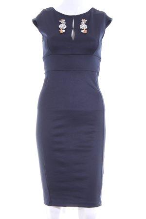 Zara Etuikleid blau Elegant