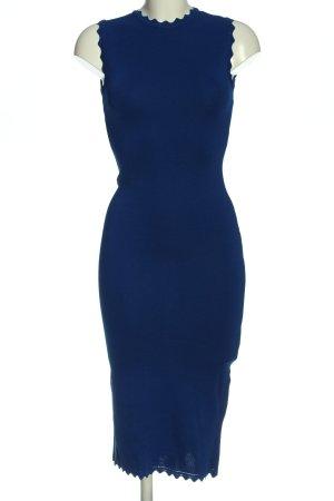 Zara Sukienka etui niebieski Elegancki