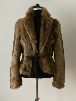 ZARA Fake Fur Blazer