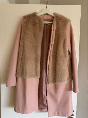 Zara Fake Fur Mantel