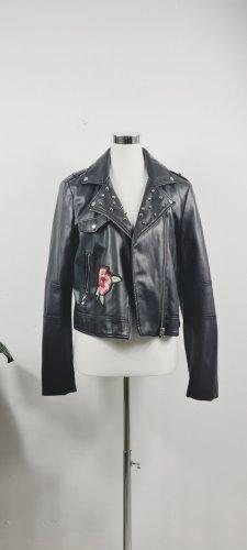Zara / Fake Leather/ Bikerjacke / Größe L