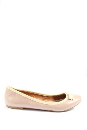 Zara Foldable Ballet Flats cream casual look