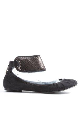 Zara Ballerines pliables noir style décontracté