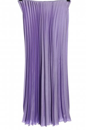 Zara Faltenrock lila Casual-Look