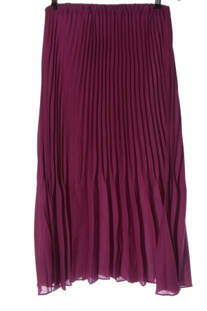 Zara Faltenrock pink Casual-Look