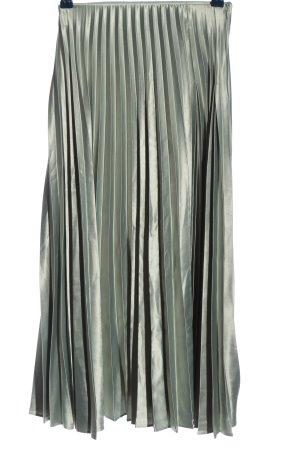 Zara Faltenrock khaki Elegant