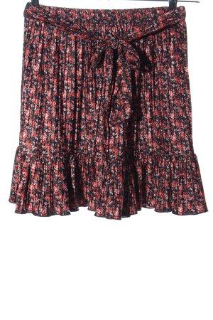 Zara Plaid Skirt allover print casual look