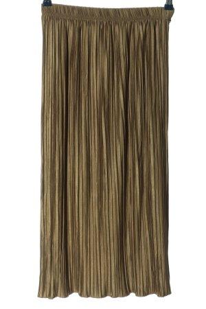 Zara Jupe à plis kaki style décontracté