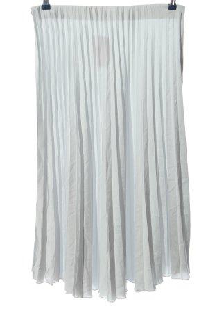Zara Plaid Skirt light grey casual look