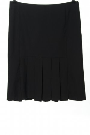 Zara Faltenrock schwarz Casual-Look