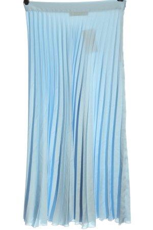 Zara Jupe à plis bleu style décontracté