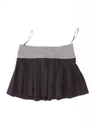Zara Faltenrock Größe L gestreift schwarz