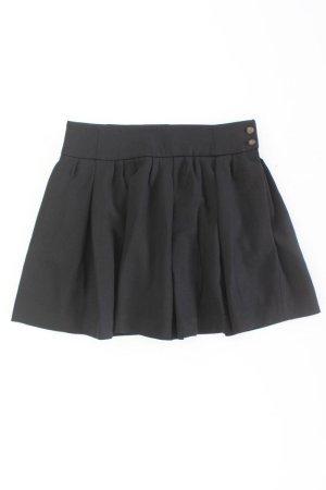 Zara Jupe à plis noir polyester