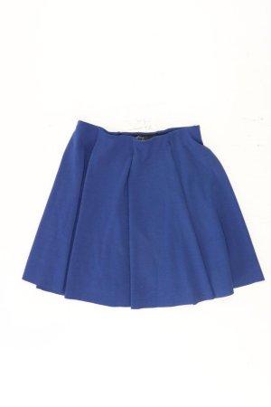Zara Faltenrock Größe M blau