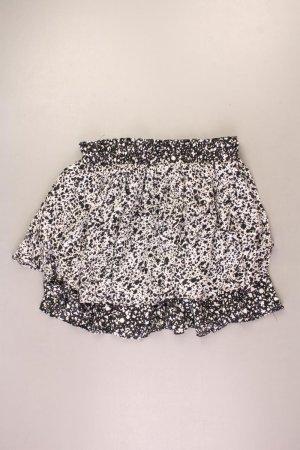 Zara Faltenrock Größe M gepunktet schwarz aus Viskose