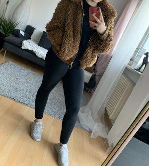 Zara Faux fur Jacke