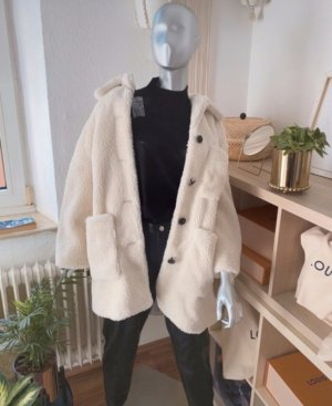 Zara faux shearling coat