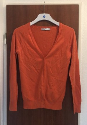 Zara fein Strick cardigans orange