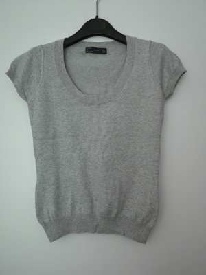 Zara Feinstrick Shirt Bluse Gr. M