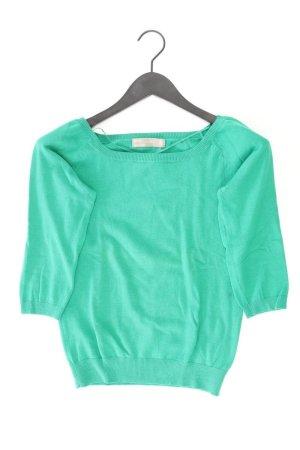 Zara Feinstrickpullover Größe M grün aus Baumwolle