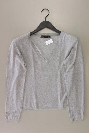 Zara Feinstrickpullover Größe XL grau aus Kunstseide